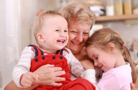 Декретный отпуск для бабушки