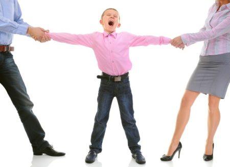 Права детей при разводе