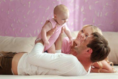 Помощь родителям при рождении ребенка