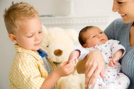 Декретные за второго ребенка