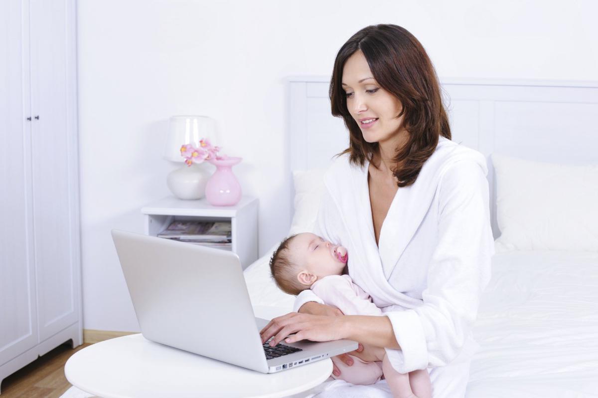 как совместить работу и грудного ребенка зависимости тканей