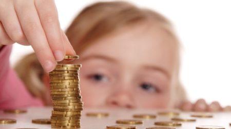 Оплата за детский сад